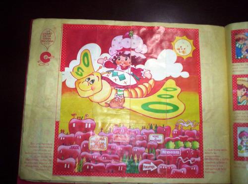 antiguo album de frutillitas completo con obsequio