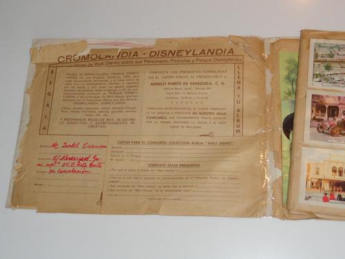 antiguo album disneylandia hcho en venezuela