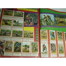 Antiguo Album Grand Prix De Motos De 1977