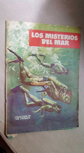 antiguo album los misterios del mar 1960s