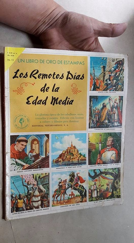 antiguo album los remotos dias de la edad media 1958 complet