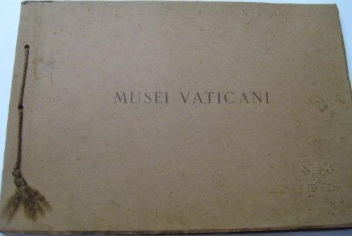 antiguo album museo vaticano arte y pintura