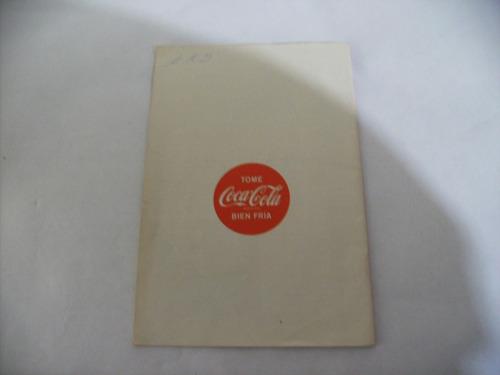 antiguo almanaque del hogar coca cola