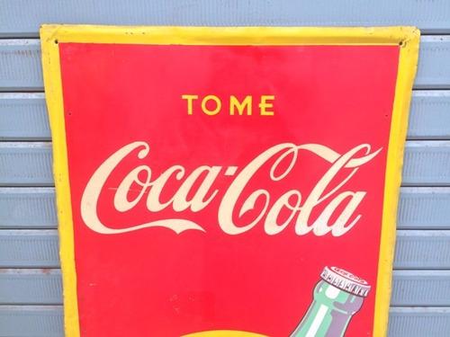 antiguo antigua letrero anuncio publicidad coca cola coke