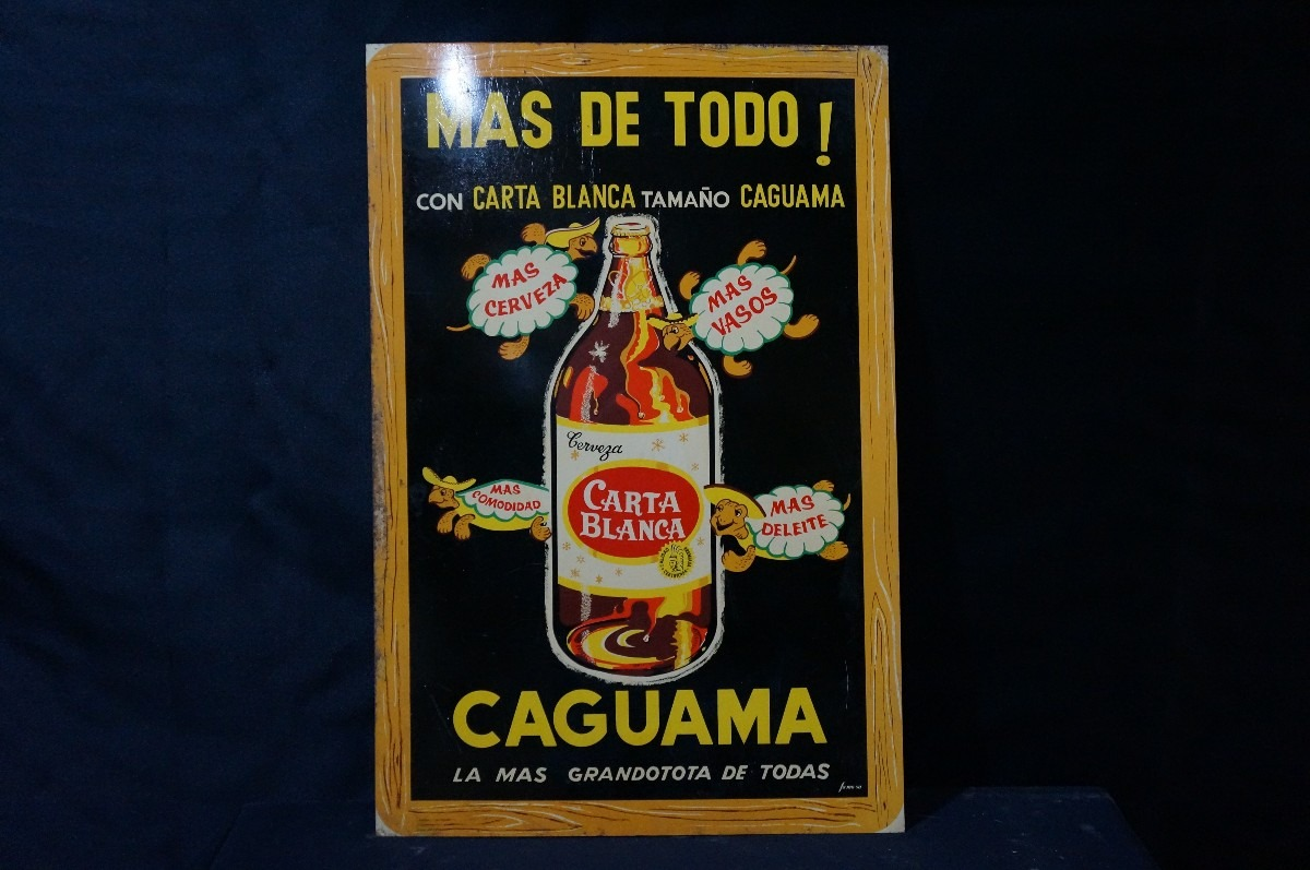 Caguamas Carta Blanca
