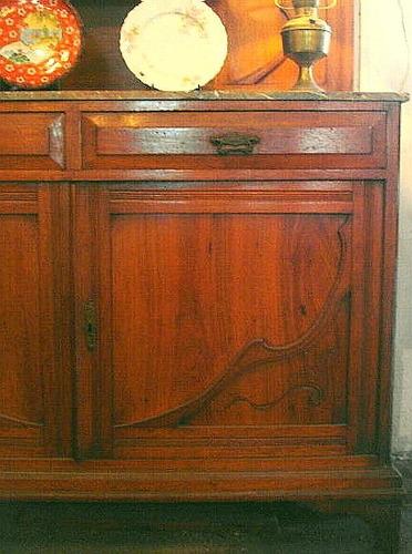 Armario Esquinero Ikea Pax ~ Antiguo Aparador Con Alzada Art Nouveau Original De Epoca $ 23 999,99 en Mercado Libre
