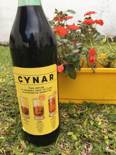 antiguo aperitivo cynar