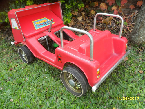 antiguo ? auto a pedal karting camión araceli sin volante