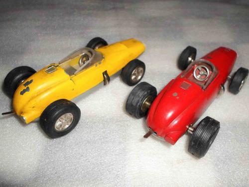 antiguo auto juguete formula 1 grand prix a cuerda vintage