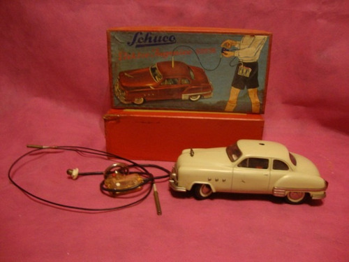 antiguo auto juguete schuco