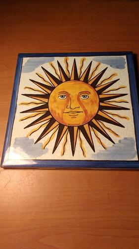 antiguo azulejo español.