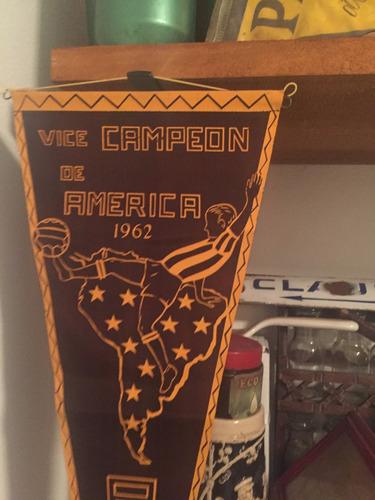 antiguo banderin de peñarol , vice campeon de america