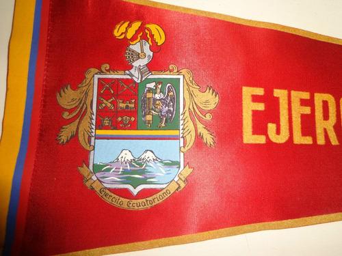 antiguo banderin del ejercito ecuatoriano