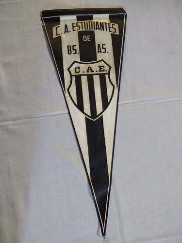 antiguo banderín - estudiantes de bs as - años 70