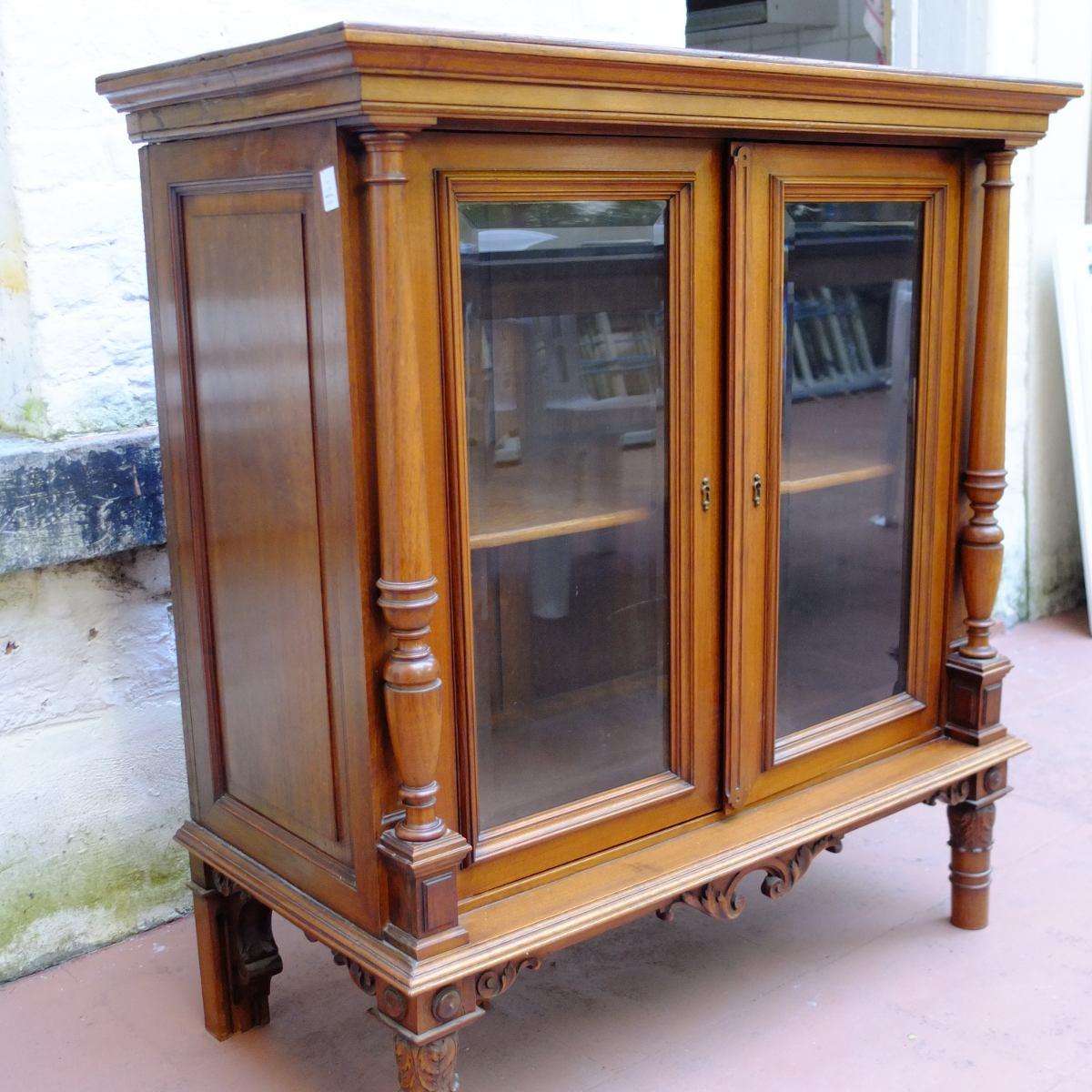 Mueble antiguo peque a biblioteca de dormitorio 320 - Mueble chino antiguo ...