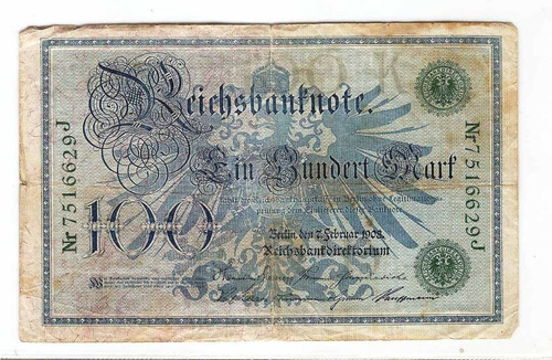 antiguo billete alemán 50.000 marcos de 1922