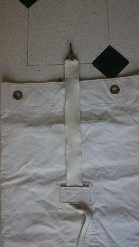 antiguo bolso militar marinero original