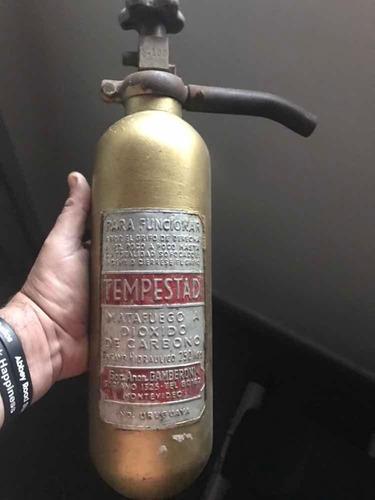 antiguo bomberito de coleccion