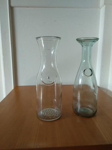 antiguo botellon decantador de vinos o botella para jugos