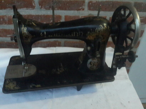 antiguo cabezal máquina coser