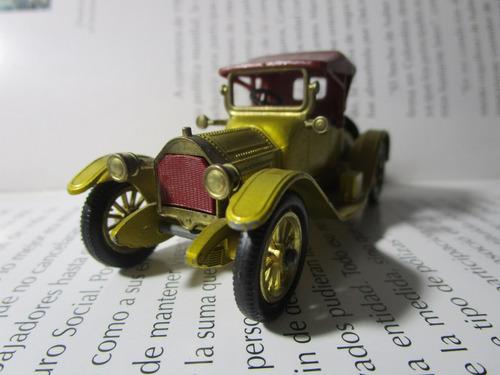 antiguo cadillac 1913 coleccion matchbox escala 9cm england