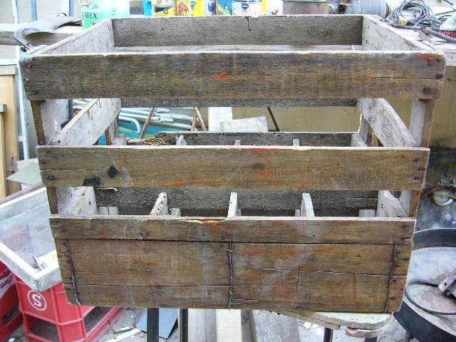 Cajones madera recicladosestilo vintage adidum - Cajones de madera antiguos ...