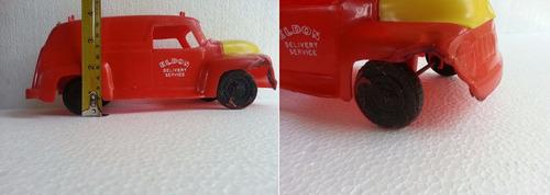 antiguo camioncito el don delivery los angeles años 60s