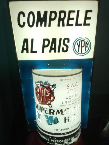 antiguo cartel luminoso ypf