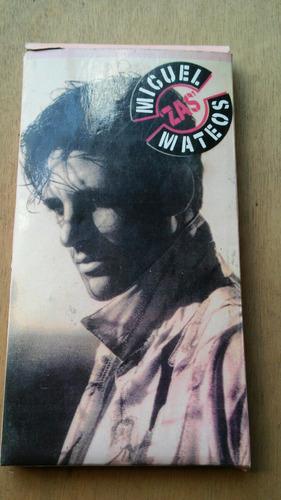 antiguo cassette original miguel mateo zas