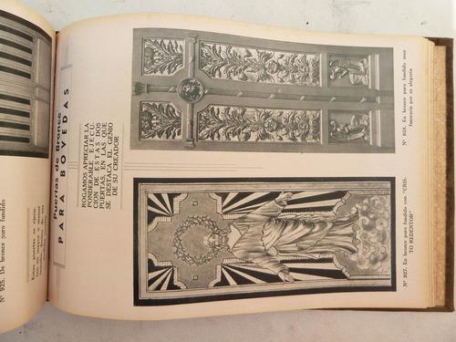 antiguo catálogo broncería fundición artística a. ferrari
