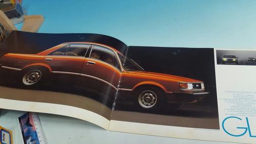 antiguo catalogo original de venta automovil toyoya carina
