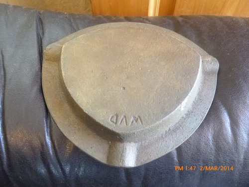 antiguo cenicero bronce masiso  astinave guayaquil ecuador