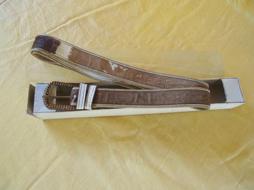 antiguo cinturon de cuero     0800