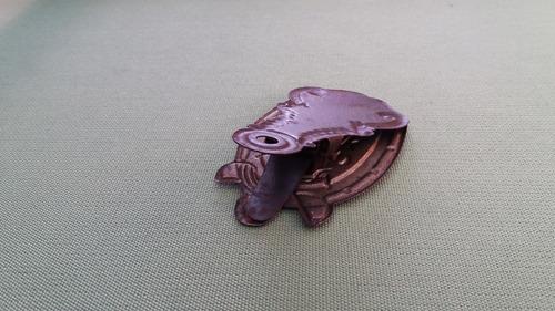 antiguo clip herradura apreta papel england siglo 19