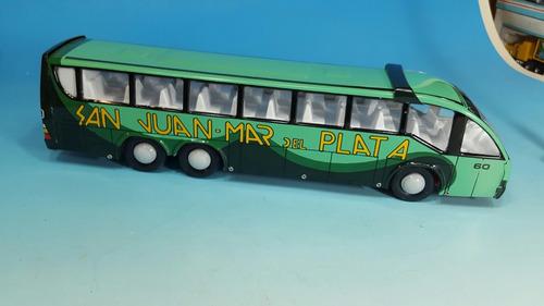 antiguo colectivo micro omnibus de lata biagiotti envio grat