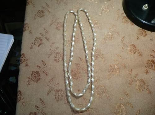 antiguo collar de nacar