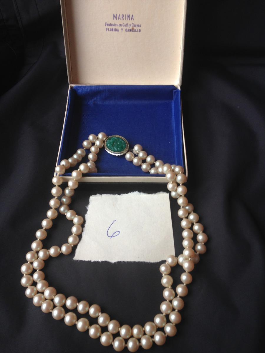 49cd9cc6a938 antiguo collar de perlas fantasía gat y chaves. Cargando zoom.