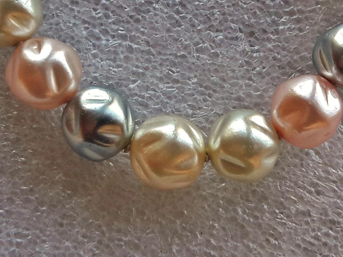 1d3901ba4768 Antiguo Collar De Perlas   Onda Retro Vintage Años 60 -   460