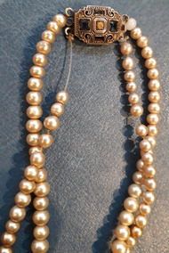629f9a91718e Antiguo Collar Perlas Majoricas Caja Orig