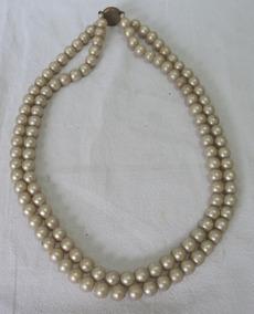cae2f08ab4c7 Collar De Perlas De Mallorca - Joyas Antiguas Antiguos en Mercado ...