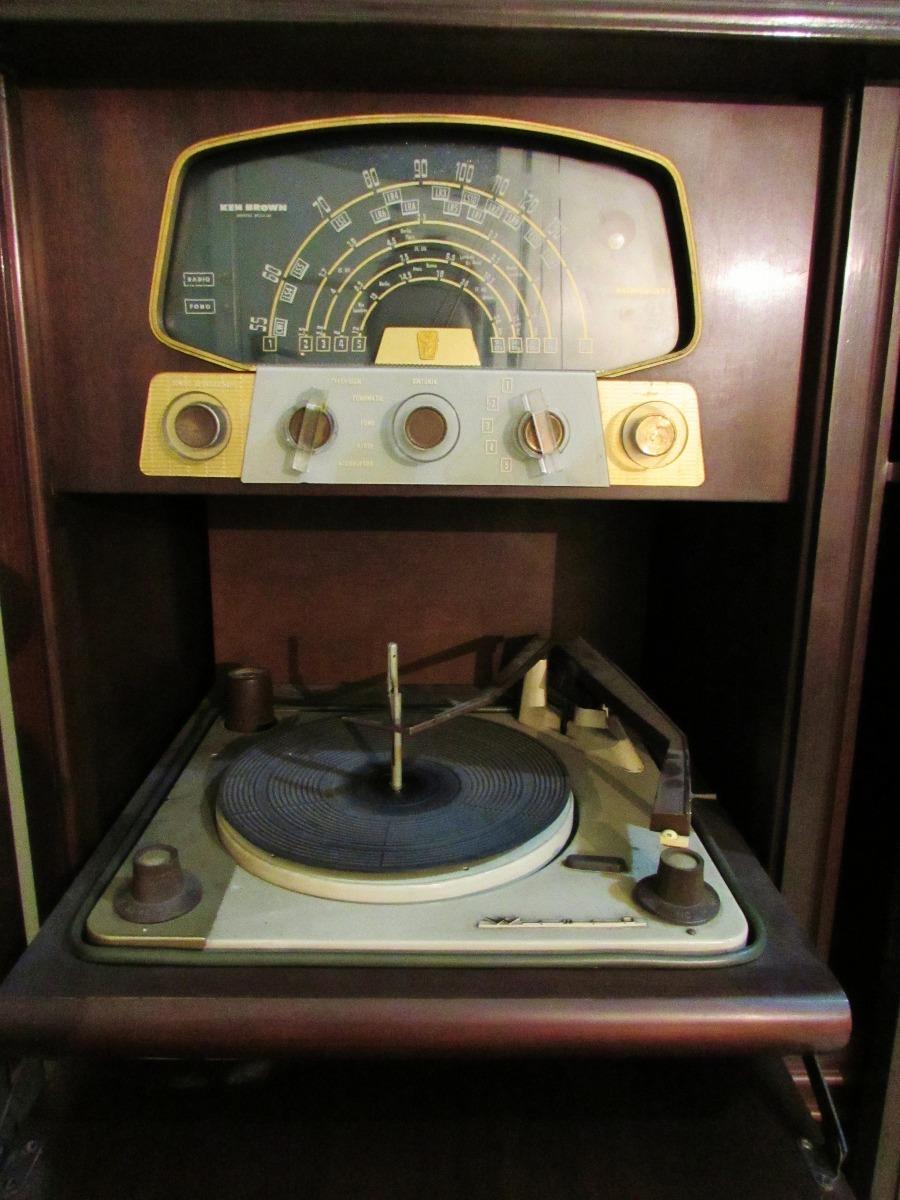Antiguo Combinado Musiquero Estilo Ingl S Nico 8 400 00 En  # Muebles Musiqueros Antiguos