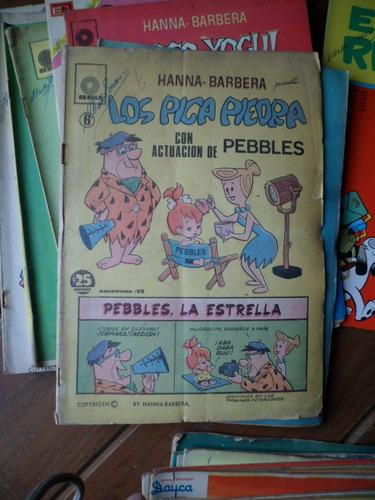antiguo comic hanna barbera los pica piedras con pebbles seu