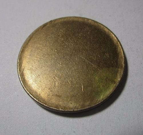 antiguo cospel moneda colombia 2 pesos 1977-1987