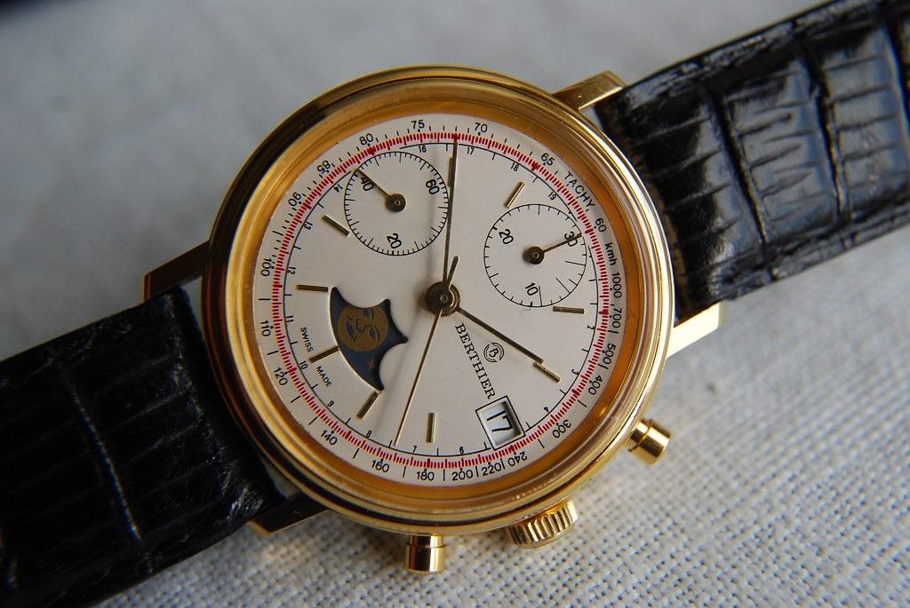 43f0a44a27bb Antiguo Cronógrafo Suizo Fase Lunar Valjoux 7768 -   499.990 en ...