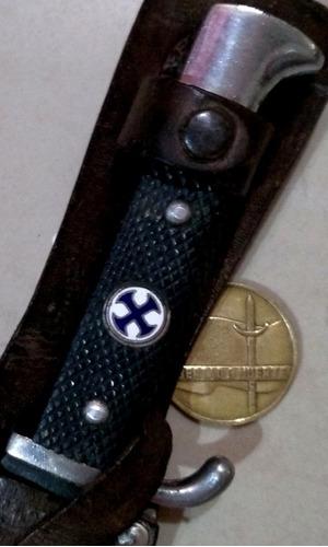 antiguo cuchillo bowie filtemple forjado sable bayoneta daga