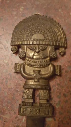 antiguo cuchillo bronce sacrificio peru-precio por c/uno