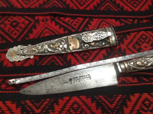 antiguo cuchillo coleccion.