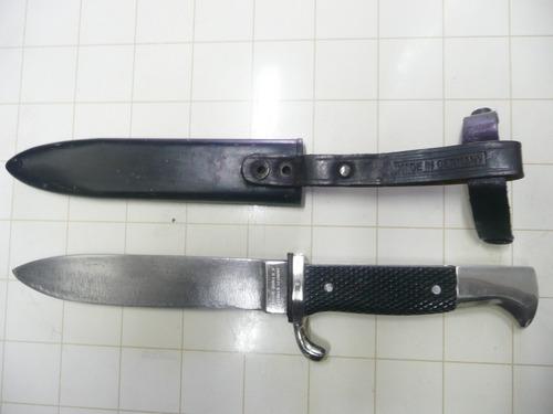 antiguo cuchillo daga anton winger jr. solingen othelo