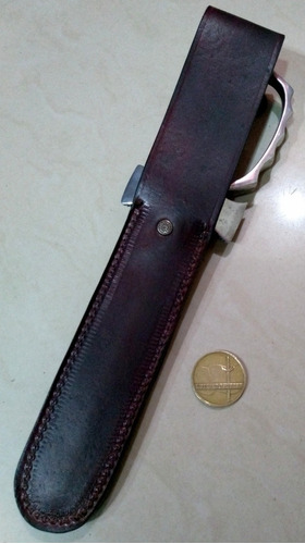 antiguo cuchillo erizo comando paracaidista. sable bayoneta.