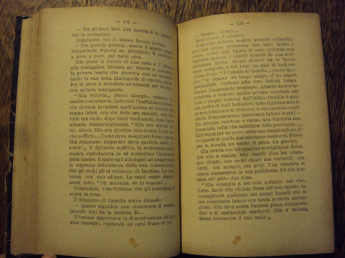 antiguo d annunzio trionfo della morte romanzo año 1900 ital